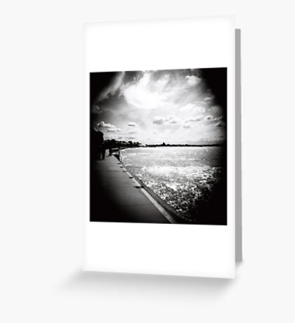 Barwon Heads sky Greeting Card