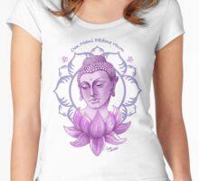 Meditating Buddha Women's Fitted Scoop T-Shirt