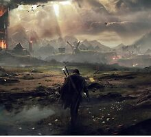 The Fight For Mordor - Lord Of The Rings by KraZerrr1