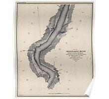 Civil War Maps 1167 Mississippi River 02 Poster
