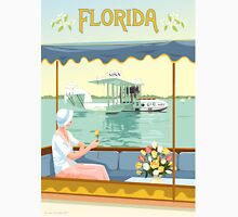 Art Deco Flying Boat - Florida Unisex T-Shirt