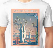 Bilbies and Boabs - Western Australia Unisex T-Shirt