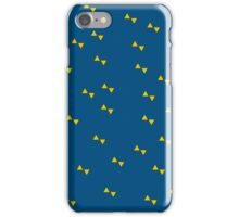 yellow bowties  iPhone Case/Skin