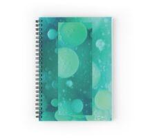 Abstract lava field Spiral Notebook