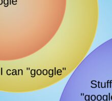 Why Librarians Are Better Than Google Sticker