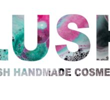 LUSH Lord Of Misrule Bath Bomb LOGO Sticker