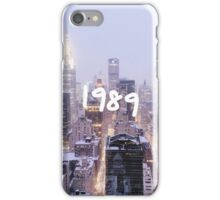 1989 iPhone Case/Skin