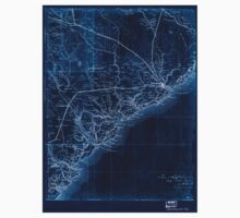 Civil War Maps 2079 Map of the coast of South Carolina from Charleston to Savannah Inverted One Piece - Long Sleeve