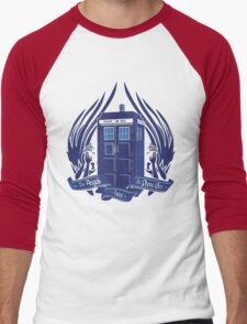 Doctor Who - Angels have the Phone Box Men's Baseball ¾ T-Shirt