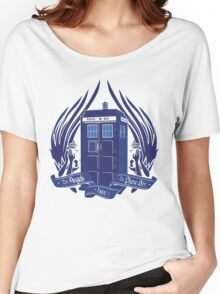 Doctor Who - Angels have the Phone Box Women's Relaxed Fit T-Shirt