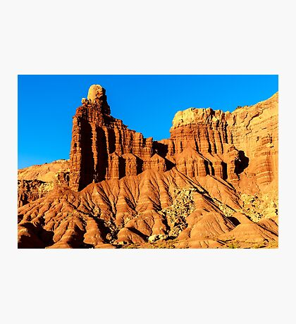 Chimney Rock at Capitol Reef Photographic Print