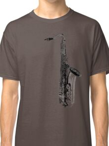 saxophone abstract Classic T-Shirt