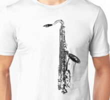 saxophone abstract Unisex T-Shirt