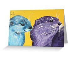 Why I Otter Greeting Card
