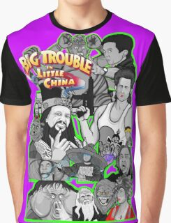 Big Trouble in Little China character collage  Graphic T-Shirt