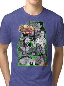 Big Trouble in Little China character collage  Tri-blend T-Shirt