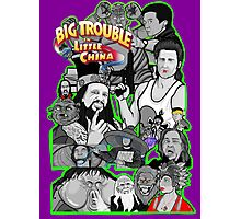 Big Trouble in Little China character collage  Photographic Print