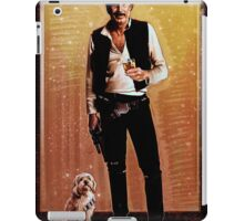 Ron Burgundy Han Solo iPad Case/Skin