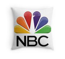 NBC Logo Throw Pillow