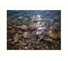 The Dead Sea البحر الميت  Art Print