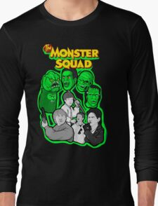 monster squad character collage Long Sleeve T-Shirt