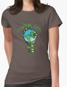 D&D TEE - LAWFUL EVIL Womens Fitted T-Shirt