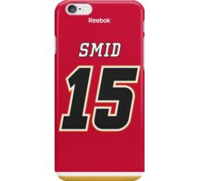 Calgary Flames Ladislav Smid Jersey Back Phone Case iPhone Case/Skin