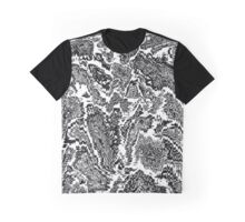 Black And White Emotions Graphic T-Shirt
