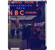 NBC Studios iPad Case/Skin