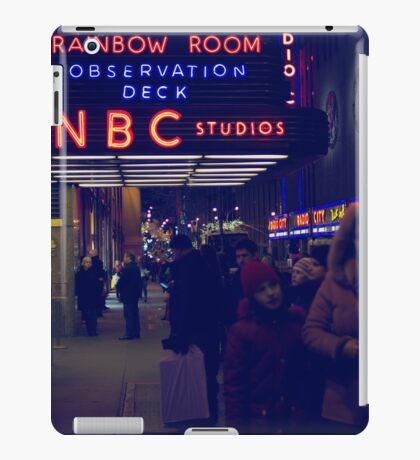 NBC Studios iPad Case/Skin
