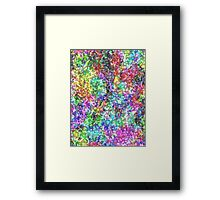 Ground Flowers Framed Print