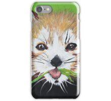 Seeing Red (Panda) iPhone Case/Skin
