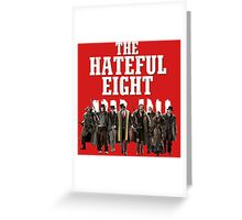 the hateful eight characters Greeting Card