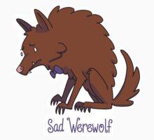Sad Werewolf One Piece - Short Sleeve