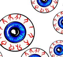 Eyeballs All Over! Peeper Print Sticker