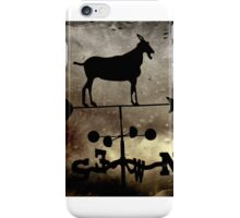 """Goat Weathervane"" by Carter L. Shepard iPhone Case/Skin"