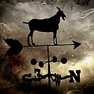 """Goat Weathervane"" by Carter L. Shepard by echoesofheaven"