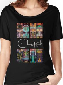 CLutch Earth Rocker sword Women's Relaxed Fit T-Shirt
