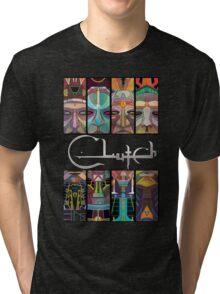 CLutch Earth Rocker sword Tri-blend T-Shirt