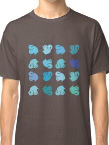 Blue Squirrel Rainbow Classic T-Shirt