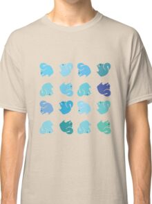 Blue Squirrel Rainbow Classic T-Shirt