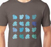 Blue Squirrel Rainbow Unisex T-Shirt