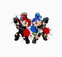 Inking Boy vs Octoling Boy Splat Unisex T-Shirt