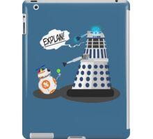 Star Wars / Doctor Who - Explain!! iPad Case/Skin