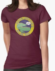 Doug Lipstick's All-Eel Zoo Womens Fitted T-Shirt