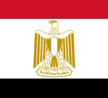 Egyptian Flag Sticker