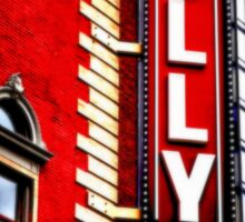 Folly Theater Sticker