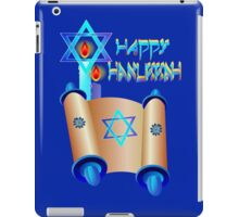 Happy Hanukkah-Torah iPad Case/Skin