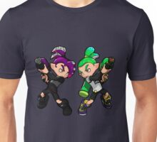 Inking Boy vs Octoling Boy V2 Unisex T-Shirt