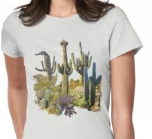 Saguaros of ARIZONA Womens Fitted T-Shirt